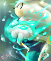 silver the hedgehog by chellchell