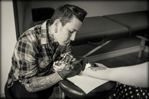 Tattoo Artist by PascalsPhotography