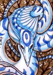 ACEO trade: Igneachtin by VentralHound