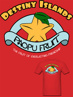 KH Destiny Islands Paopu Fruit T Shirt by Enlightenup23