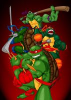 Teenage Mutant Ninja Turtles by circus13