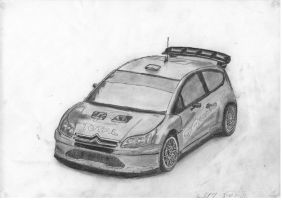 Citroen C4 Coupe Rally Car by Soaringkite