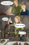 Tamriel Tails- ALWFE- Birth of a Hero #1 Page 13 by KittenXaos