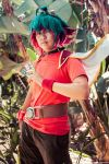 Yugioh Arc V Cosplay - Yuya Sakaki by slifertheskydragon