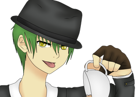 Tea time with Hazama~ by PattixKakashi
