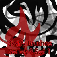 Swirly Brushes Series 3 Set 1 by AgtBauer24