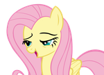 My Little Vector #4: Fluttershy (Oh, you) by KocMoHaBT