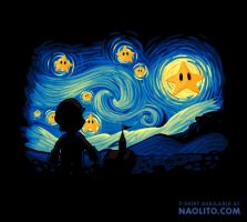 Super Starry Night by Naolito