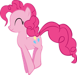 Pinkie Pie Bouncing by Vector-Brony