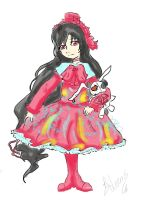 First Place Prize .:Alice Doll:. Resubmit by DemonFox889