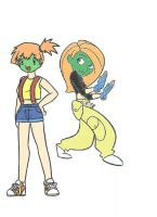 Kim Possible and Misty 'Masked' by Dec181985