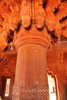 Fatehpur Sikri interior 2 by wildplaces
