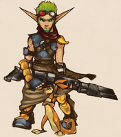 Jak and Daxter by gaerss