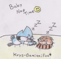 Baby nap time :3 by Krys-DamianiFoo