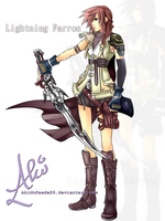 Lightning Farron by AkiNoKaede26