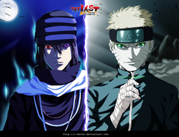 Naruto and Sasuke - The Last Movie by I-DEVOS