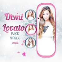 PNG PACK (7) Demi Lovato by DenizBas