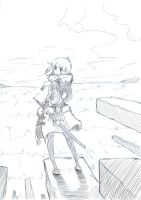 Koalla-chan on the end time_sketch by truthfeina