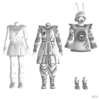 DBXV - Human Female Clothes - Pack II by Postmortacum