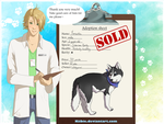 Lewis the vet: Yamaska -CLOSED- by Kiibie-Adopt