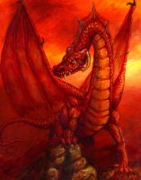 The Red Dragon by mbielaczyc