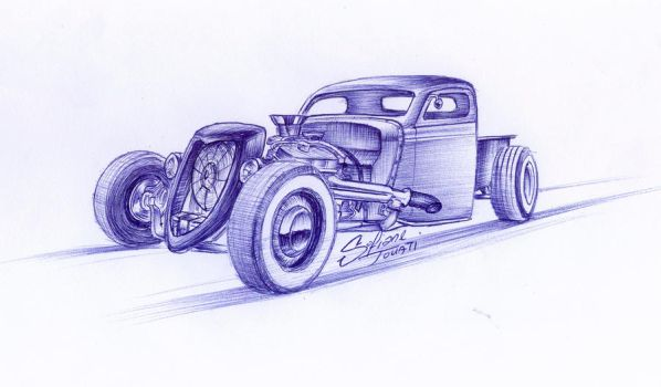 Rat Rod by SofianeTOUATI