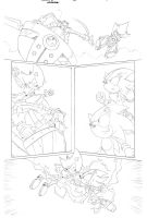 Sonic x #40 pg 17 by Dhutchison