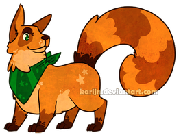 Corgiecoon Adoptable - CLOSED by Karijn-s-Basement