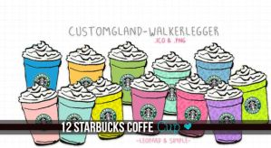 Starbucks Coffe cup, png and ico. by WalkerLegger