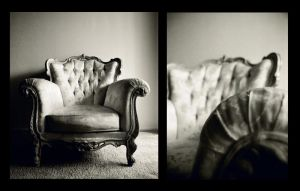 grandmother's chair by electric-lady