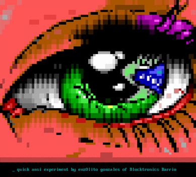 Eye Experiment by enzo
