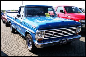 1967 Ford F100 by compaan-art