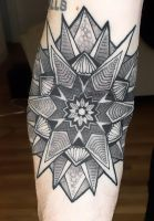 finished mandala by rekit