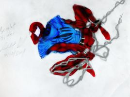 Scarlet Spider in color by Panther10