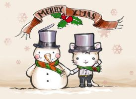 Merry Xmas Lovecats by vrlovecats