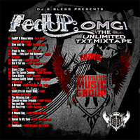 FedUP: OMG Mixtape Cover by NcriptioN