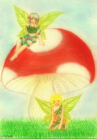 Fairies and Toadstools Entry 5 by Rikuroku