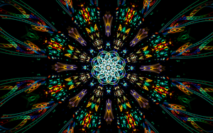 Stained Glass by Fractamonium