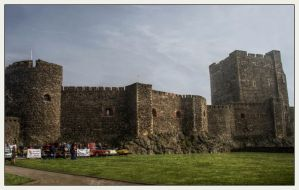 Carrickfergus Castle 1 by Isyala