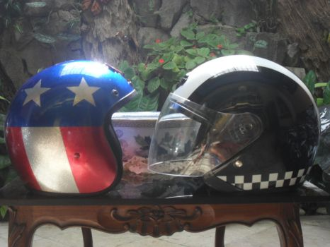 Helmets by mappy41