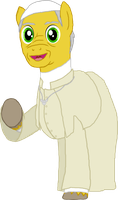 MLP Chronicles - Pope Franciscolt by Crisostomo-Ibarra