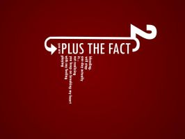 Plus the fact - Typography by vdheide