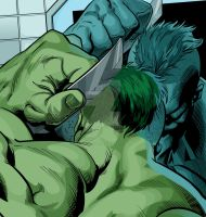 Incredible Hulk Combing Hair (FINAL) by Niners01916