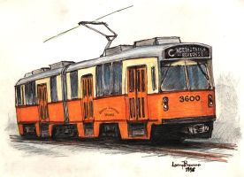 MBTA Type 7 as Boston Elevated by LPBrennan