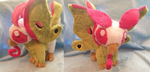 Moth Griffin Plush by Glacdeas