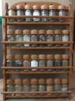 Spice Rack (front) by fuguestock