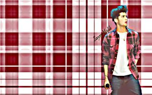 Zayn Plaid Wallpaper 3 by iluvlouis
