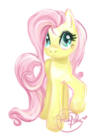 Fluttershy by Curly-Qs