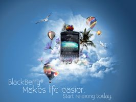 Blackberry Paradise by fiyah-gfx
