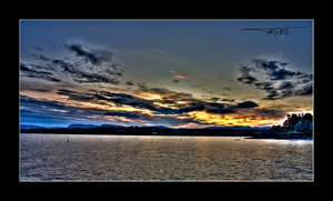 Bygdoey Sunset in HDR... by OrisTheDog